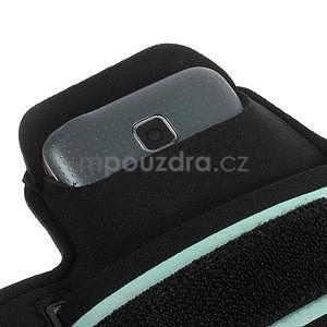 Run běžecké pouzdro na mobil do velikosti 131 x 65 mm - bílé - 6