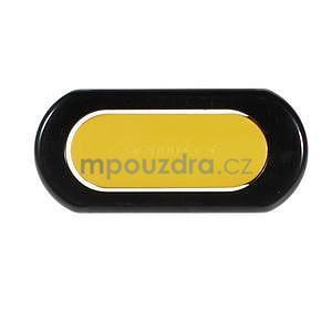 Polohovatelný stojánek na mobil, žlutý - 6