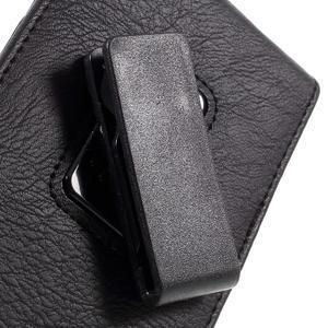 Pouzdro na opasek pro telefony do rozměru 160 x 84 x 18 mm - černé - 6