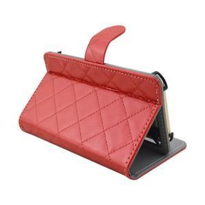 Luxury univerzální pouzdro na mobil do 148 x 76 x 21 mm - červené - 6