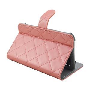 Luxury univerzální pouzdro na mobil do 148 x 76 x 21 mm - růžové - 6