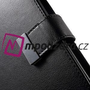 Luxusní univerzální pouzdro pro telefony do 140 x 70 x 12 mm - černé - 6