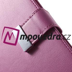Luxusní univerzální pouzdro pro telefony do 140 x 70 x 12 mm - rose - 6