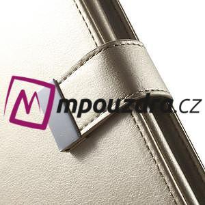 Luxusní univerzální pouzdro pro telefony do 140 x 70 x 12 mm - zlaté - 6
