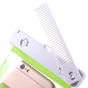 Nox7 vodotěsný obal na mobil do rozměru 16.5 x 9.5 cm - zelený - 6