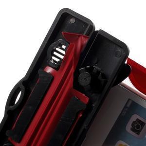 Nox7 vodotěsný obal na mobil do rozměru 16.5 x 9.5 cm - červený - 6