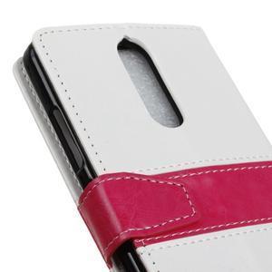Colory knížkové pouzdro na Lenovo K5 Note - bílé - 7