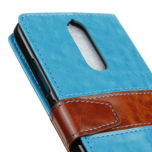 Colory knížkové pouzdro na Lenovo K5 Note - modré - 7