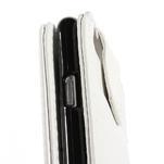PU kožené flipové pouzdro na iPhone 6, 4.7 - bílé - 7/7