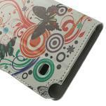 Peněženkové pouzdro na Samsung Galaxy Note 4- barevní motýlci - 7/7