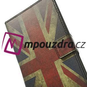 Peněženkové pouzdro na Samsung Galaxy Note 4- UK vlajka - 7