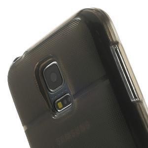 Gelové pouzdro na Samsung Galaxy S5 mini G-800- vesta šedá - 7