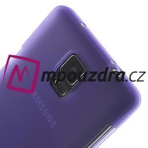 Gelové pouzdro na Samsung Galaxy Note 4- fialové - 7