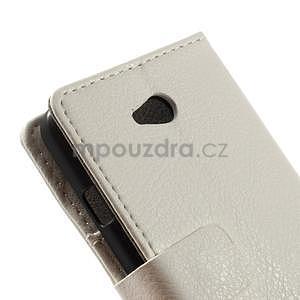Peněženkové pouzdro na LG L65 D280 - bílé - 7
