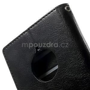 Peněženkové pouzdro na Nokia Lumia 830 - černé - 7