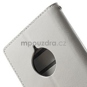 Peněženkové pouzdro na Nokia Lumia 830 - bílé - 7