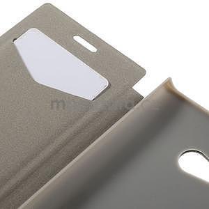 Flipové pouzdro na Nokia Lumia 730 - červené - 7