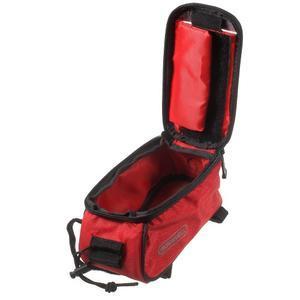 Brašna na kolo s úložným prostorem pro mobily do rozměru 138,3 x 67,1 × 7,1 mm - červená - 7