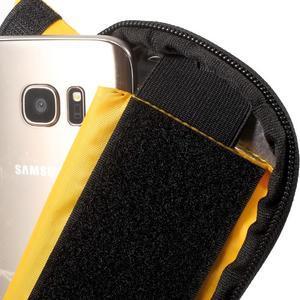 Brašna na kolo s úložným prostorem pro mobily do rozměru 138,3 x 67,1 × 7,1 mm - žlutá - 7