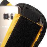 Brašna na kolo s úložným prostorem pro mobily do rozměru 138,3 x 67,1 × 7,1 mm - žlutá - 7/7