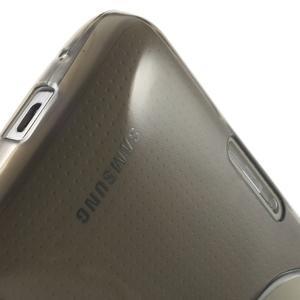 Gelové Ultraslim pouzdro na Samsung Galaxy K Zoom- šedé - 7