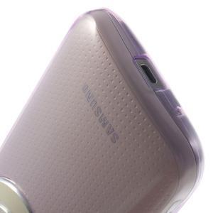 Gelové Ultraslim pouzdro na Samsung Galaxy K Zoom- fialové - 7
