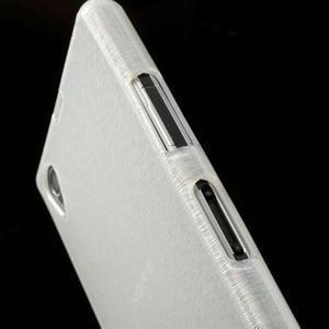 Kartáčované pouzdro na Sony Xperia Z1 C6903 L39- bílé - 7