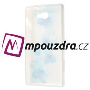 Gelové pouzdro na Sony Xperia M2 D2302 - modrá lilie - 7