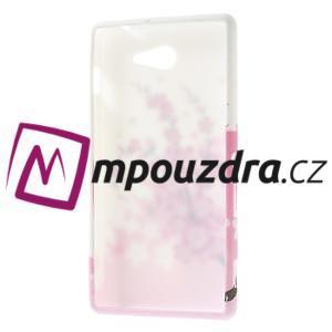 Gelové pouzdro na Sony Xperia M2 D2302 - kvetoucí větvička - 7