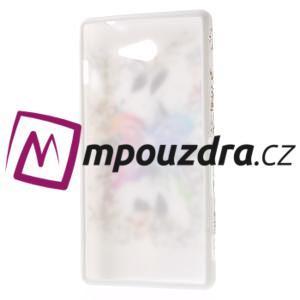 Gelové pouzdro na Sony Xperia M2 D2302 - motýl - 7