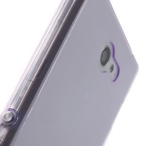 Gelové Ultraslim pouzdro na Sony Xperia M2 D2302- fialové - 7