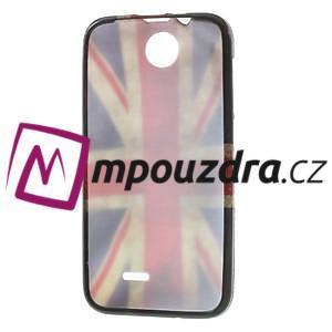 Gelové pouzdro na HTC Desire 310- UK vlajka - 7