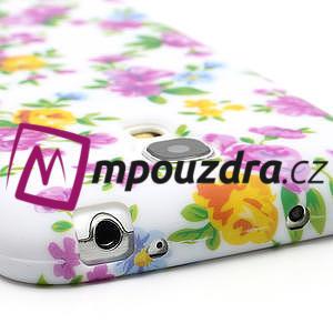 Gelové pouzdro pro Samsung Galaxy S4 mini i9190- elegantní květina - 7