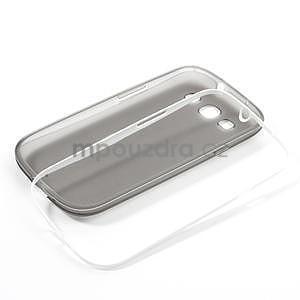 Gelové rámované pouzdro na Samsung Galaxy S3 i9300- šedé - 7