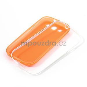 Gelové rámované pouzdro na Samsung Galaxy S3 i9300- oranžové - 7