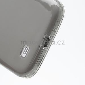 Gelové slim pouzdro na Samsung Galaxy S4 i9500- šedé - 7