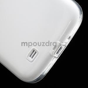 Gelové slim pouzdro na Samsung Galaxy S4 i9500- bílé - 7