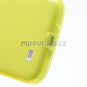 Gelové slim pouzdro na Samsung Galaxy S4 i9500- žluté - 7