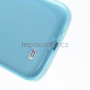 Gelové slim pouzdro na Samsung Galaxy S4 i9500- modré - 7