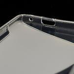 Gelové S-line pouzdro pro HTC one M7- transparentní - 7/7