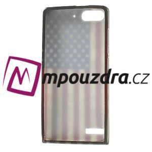 Gelové pouzdro na Huawei Ascend G6 - USA vlajka - 7