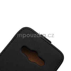 Flipové pouzdro na Samsung Galaxy Xcover 3 - černé - 7