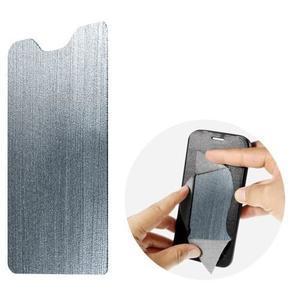 Klopové pouzdro na mobil Acer Liquid Z630 - šedé - 7