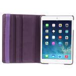 PU kožené 360 °  pouzdro pro iPad mini- fialové - 7/7