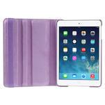 PU kožené 360 °  pouzdro pro iPad mini- světlefialové - 7/7