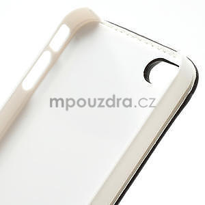 Flipové pouzdro pro iPhone 4, 4s- coffe - 7