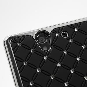 Drahokamové pouzdro na Sony Xperia Z L36i C6603- černé - 7