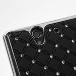 Drahokamové pouzdro na Sony Xperia Z L36i C6603- černé - 7/7