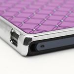 Drahokamové pouzdro na Sony Xperia Z L36i C6603- fialové - 7/7