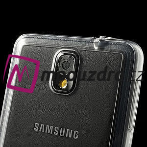 Gelové hybrid pouzdro na Samsung Galaxy Note 3- transparentní - 7